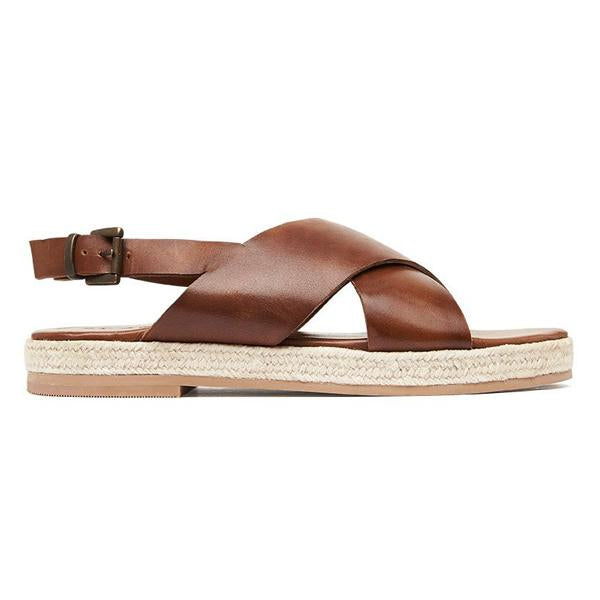 St Agni Basque Espadrille - Antique Tan