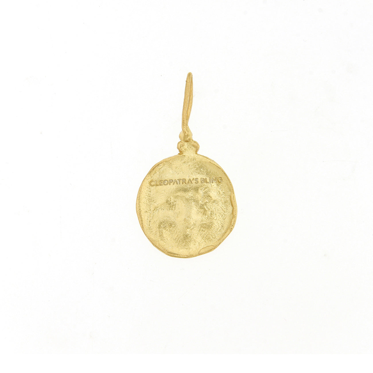 Moon Face Pendant - 18K Gold Plated