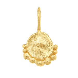 Gorgoneion Protection Pendant - 18K Gold Plated
