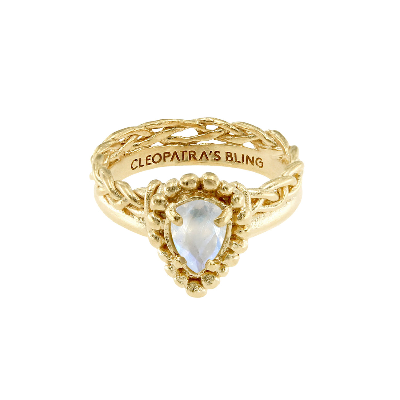 Titania Ring - 24K Gold Plated