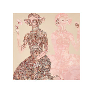 Henna Rose Limited Edition Print