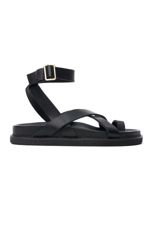 The Leni Sandal - Black