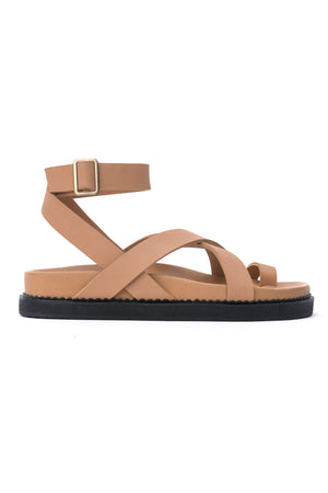 The Leni Sandal - Tan