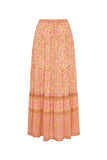 Love Story Boho Skirt – Peach Blossom
