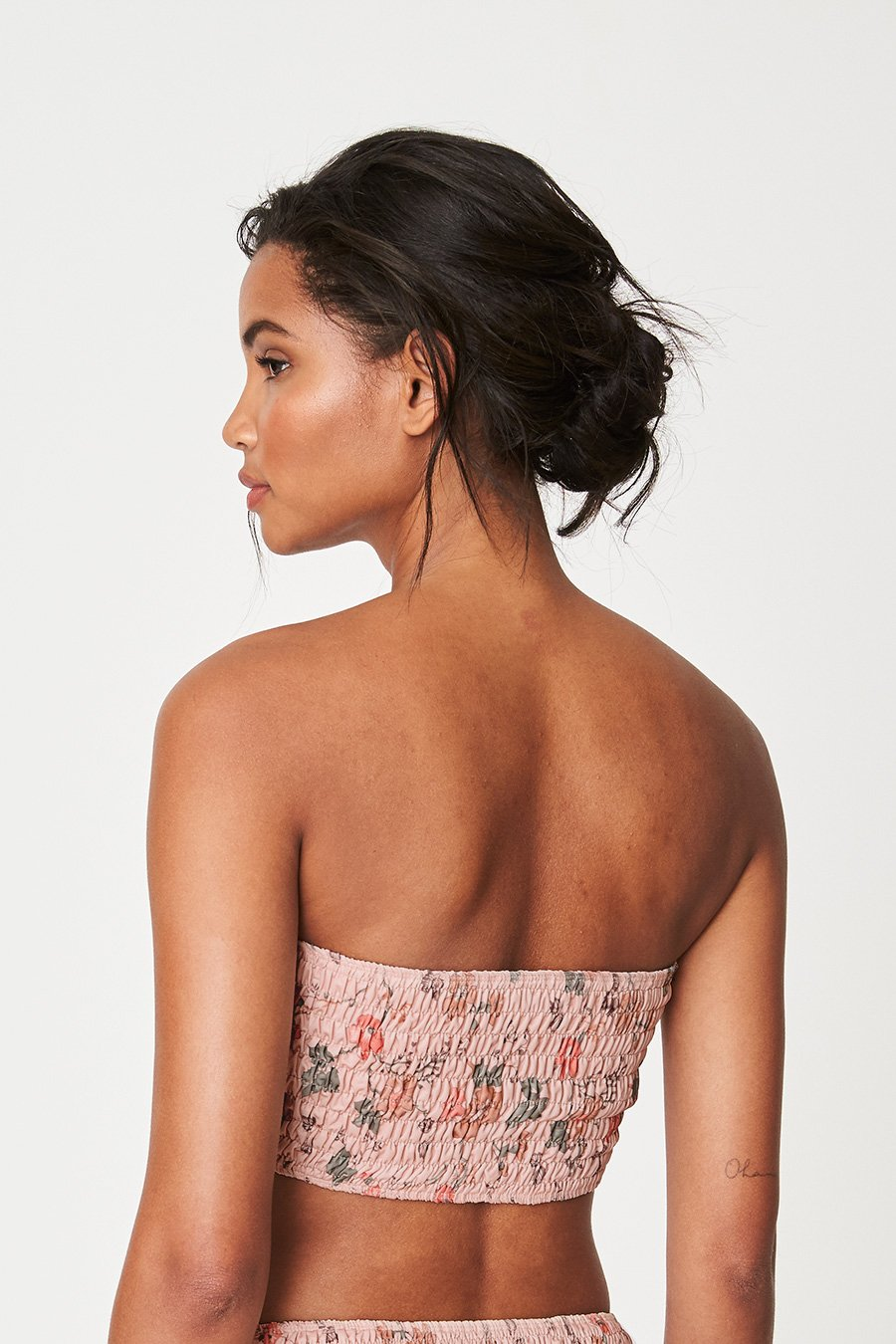 Rowie Holiday Bandeau - Blush Meadow