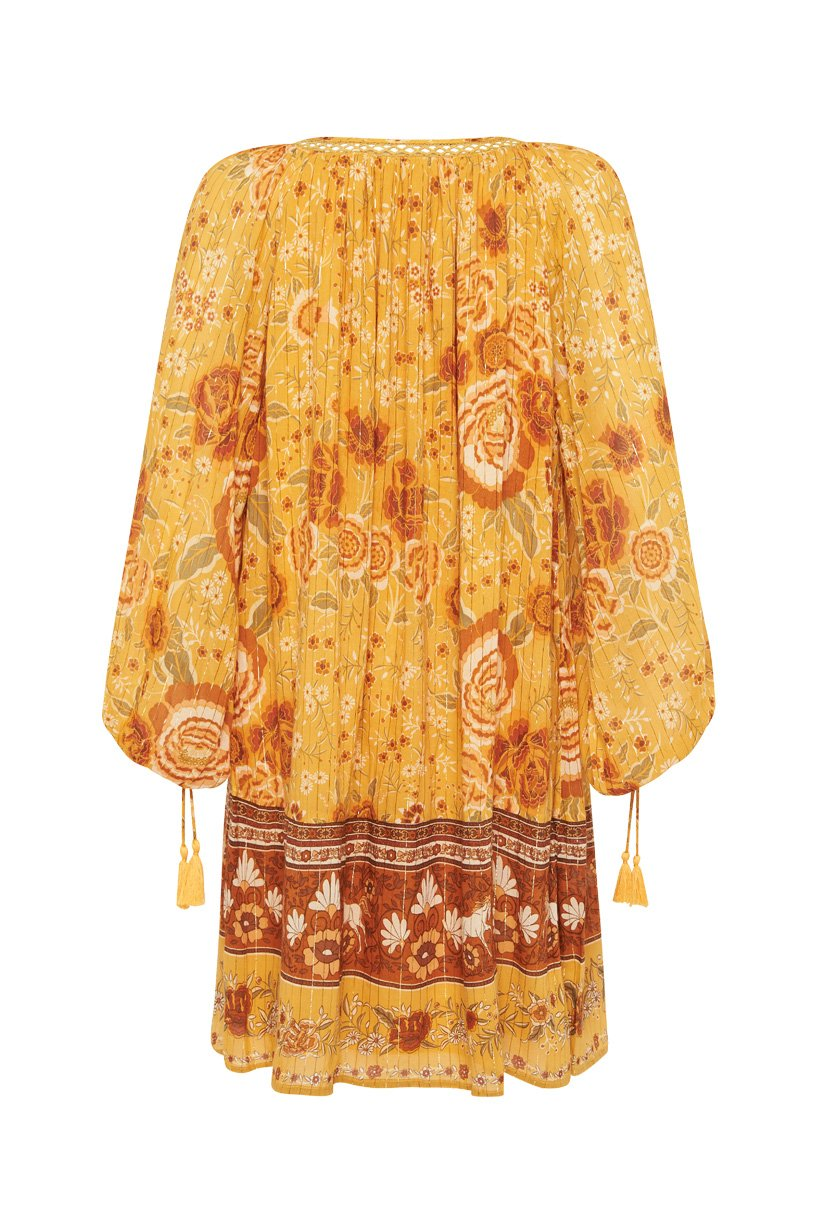 Mystic Tunic Dress - Sunflower