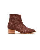 Hamlet Woven Boot - Antique Tan