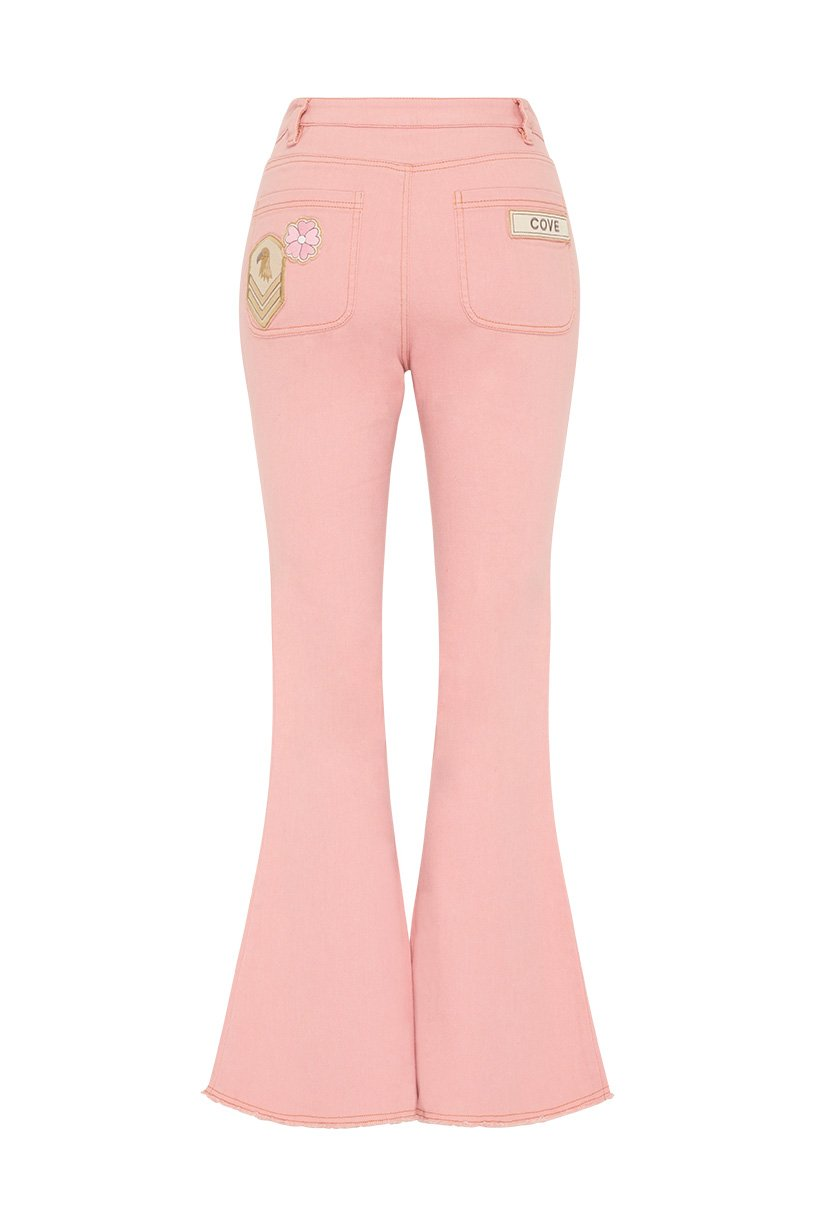 Spell Designs Candy Denim Flares - Candy