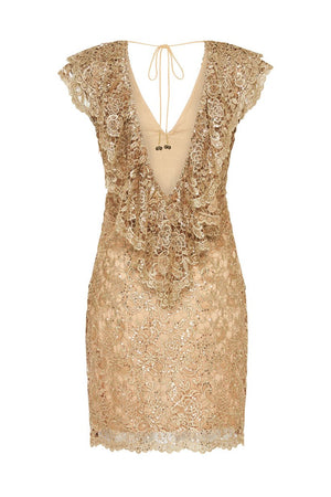Spell Designs Nina Shift Dress - Bronze