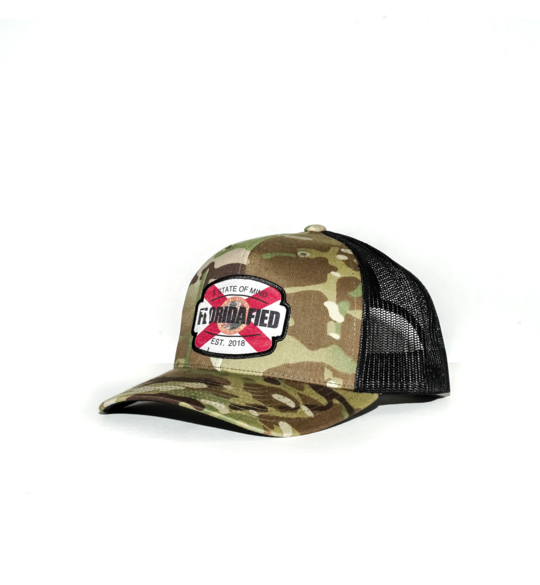 Camo Floridafied Snap Back