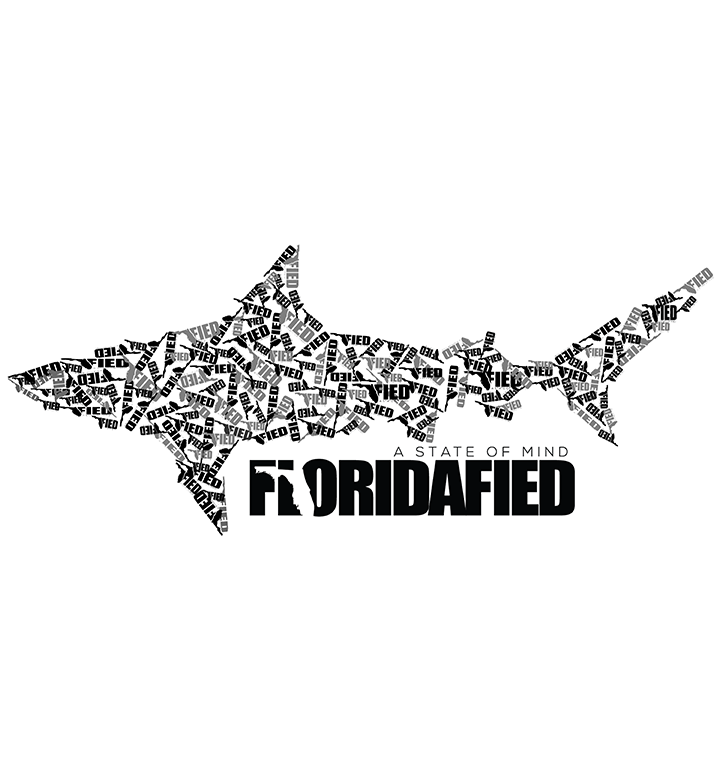 FLFied Shark Icon Logo Sticker