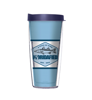 Floridified Sky Blue Tumbler