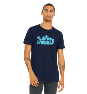 Navy Palms Original Logo Tee