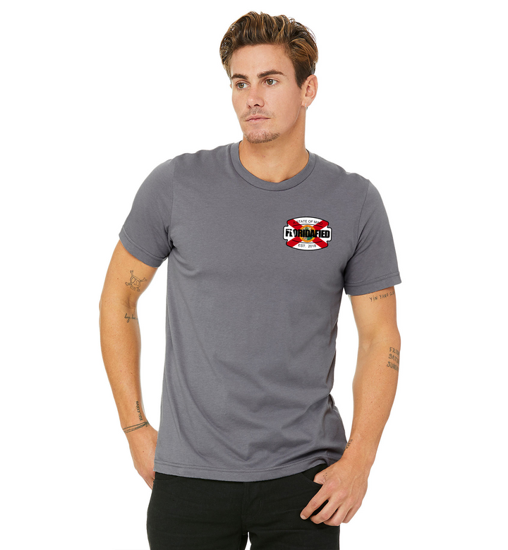 Storm Grey FL Flag/OG Badge Tee