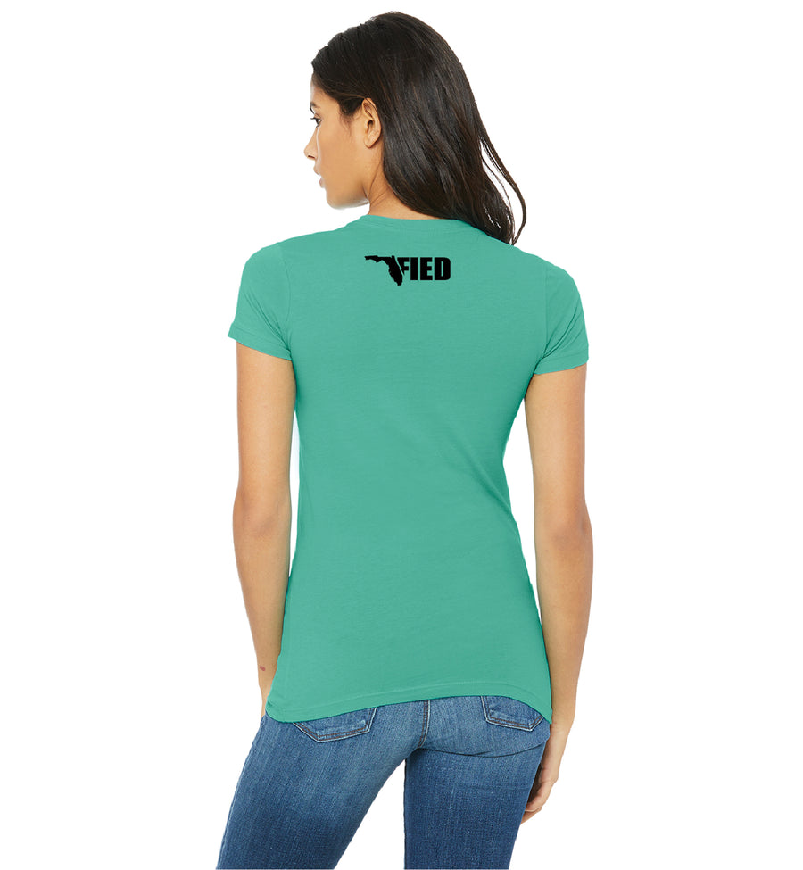Women's Floridafied Palms Tee