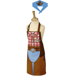 Typhoon Kids Cowboy Apron & Bandana Set