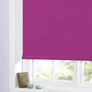BLACKOUT ROLLER BLINDS -  EASY FIT TRIMMABLE ( 20 Plus Colours)