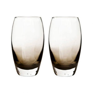 Denby Halo/Praline Large Tumblr Glasses (Pack Of 2)