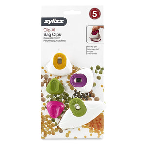 Zyliss Bag Clips Mix Assorted 4x12x25.5 cm