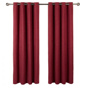iLiv Anderson Woven Lined Eyelet Curtains