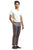 Ignite Wardrobe Men's Trousers Stretchable Straight-Fit Chino Pants