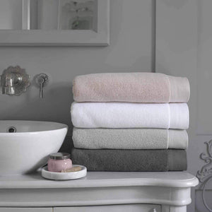 Christy Luxe 730gsm Cotton Towels - White
