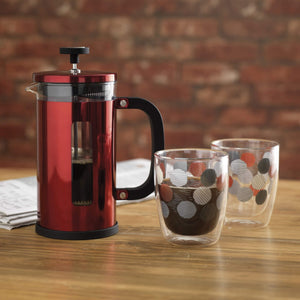 La Cafetiere Pisa Cafetiere, 3 Cup - Red