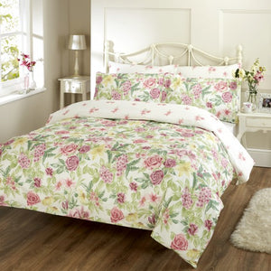 Vantona Tiger Lilly Duvet Cover Set - Pink