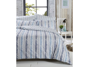 Vantona Asha Duvet Cover Set - Blue