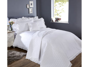 Vantona Romantica Duvet Cover Set - White