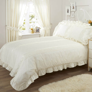 Vantona Country Monique Duvet Cover Set - Cream
