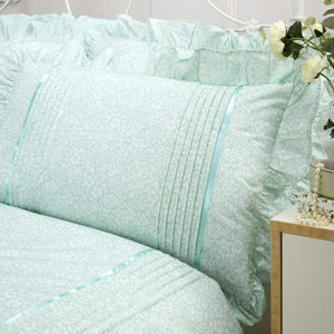 Vantona Country Monique Duvet Cover Set - Mint
