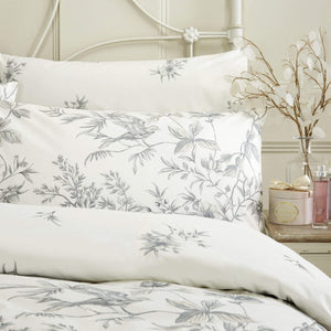 Vantona Tree of Life Duvet Cover Set - Grey