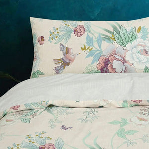 Vantona Boutique Chinoiserie Duvet Cover Set - Multi