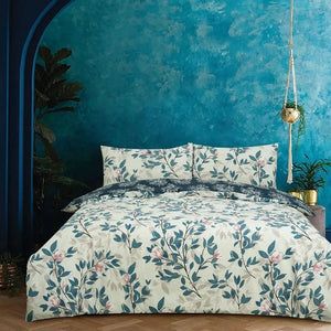 Vantona Boutique Magnolia Duvet Cover Set - Multi