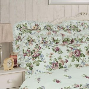 Vantona Victoria Duvet Cover Set, Bedspread & Curtain - Multi