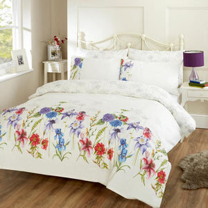 Vantona Country Botanical Garden Duvet Cover Set - Multi