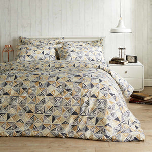 Vantona Easy Living Tribal Duvet Cover Set - Multi