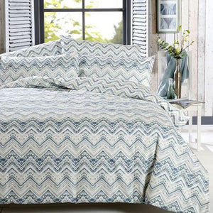 Vantona Fallon Duvet Cover Set - Green