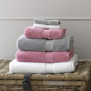 Christy Supreme Hygro 650gsm Cotton Towels - Blush