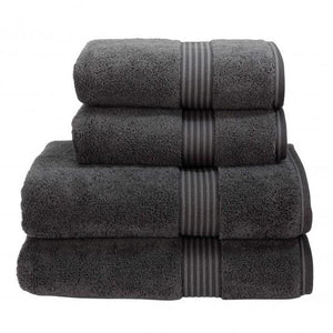 Christy Supreme Hygro 650gsm Cotton Towels - Graphite