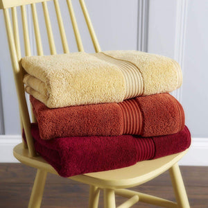 Christy Supreme Hygro 650gsm Cotton Towels - Primrose