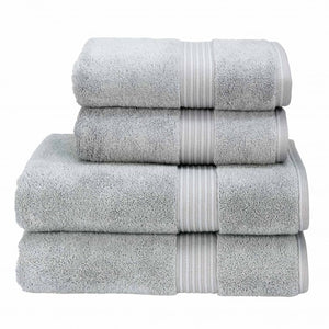 Christy Supreme Hygro 650gsm Cotton Towel-Sliver