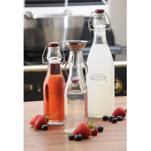Kilner Clip Top Square Bottle - 1L