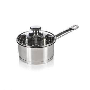 Multicook Professional Induction Saucepan with Glass Lid - 18cm