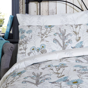 Vantona Saskia Duvet Cover Set - Blue