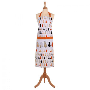 Ulster Weavers Cats in Waiting Cotton Drill Apron