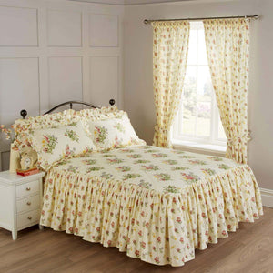 Vantona Country Nerissa Quilted Fitted Bedspread - Multi