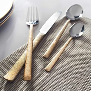 Viners Dazzle 16 Piece Stainless Steel Cutlery Set - Gold