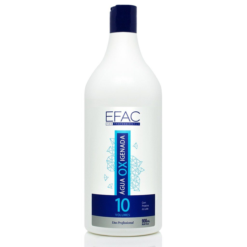 Água Oxigenada EFAC OX 10 Volumes 900ml EFAC Men's Market